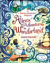 Alice in Wonderland, by Lewis Carroll, Usborne