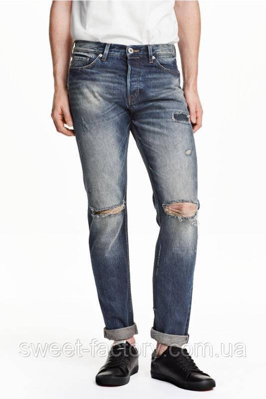 Новые мужские джинсы h&m оригинал 100% отличное качество