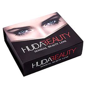 Линзы цветные косметические Huda Beauty sensual beauty lens Turquoise
