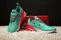 Женские кроссовки  Nike Air Max 270 Turquoise Red⠀(реплика)