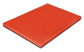 PE5RJ50354 Доска разделочная Durplastics цвет красный 50х35х4мм