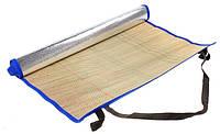 Пляжный коврик для загара солома  90см*180см