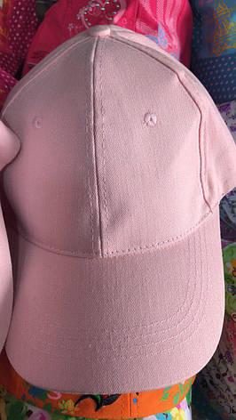 Кепка летняя розовая в ассортименте, фото 2