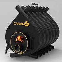 Булерьян «Canada» classic «О4» со стеклом печь