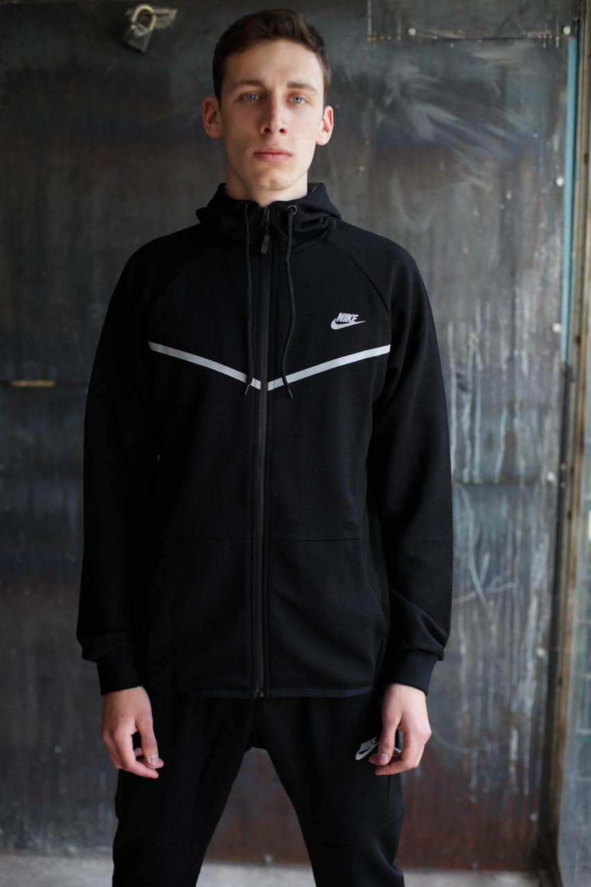 Мужской спортивный костюм Nike KD-1490.Черный