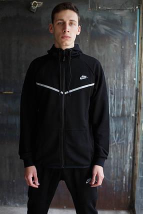 Мужской спортивный костюм Nike KD-1490.Черный, фото 2