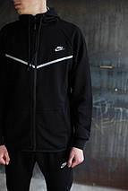 Мужской спортивный костюм Nike KD-1490.Черный, фото 3