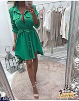 Cтильное платье-туника 2 цвета 42-44