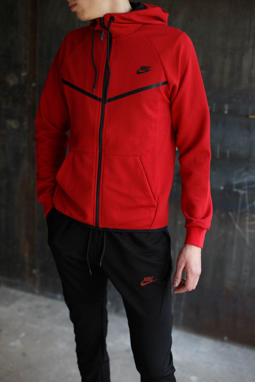 Мужской спортивный костюм Nike KD-1490.Красный