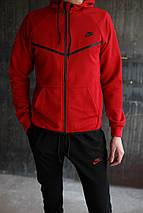 Мужской спортивный костюм Nike KD-1490.Красный, фото 2