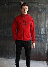 Мужской спортивный костюм Nike KD-1490.Красный, фото 3