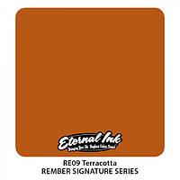 Краска для татуировочных работ Eternal ink. Rember Set. Terracotta 1/2 oz, фото 1