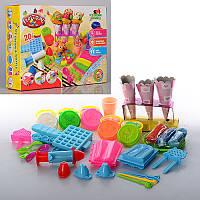 Игровой набор для лепки Пластилин Мороженое Вафли, 0186, 006076