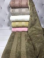 Полотенца лицевые бамбуковые Pupilla destina упаковка 6 шт. 50х90см, фото 1