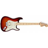 Электрогитара Fender Deluxe Stratocaster HSS MN Tobacco Burst