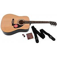 Гитарный набор Fender FA-115 Natural