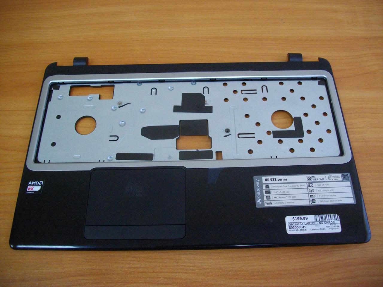 Корпус Верхняя часть корпуса с тачпадом Gateway MS2370, NE522, NE52224u