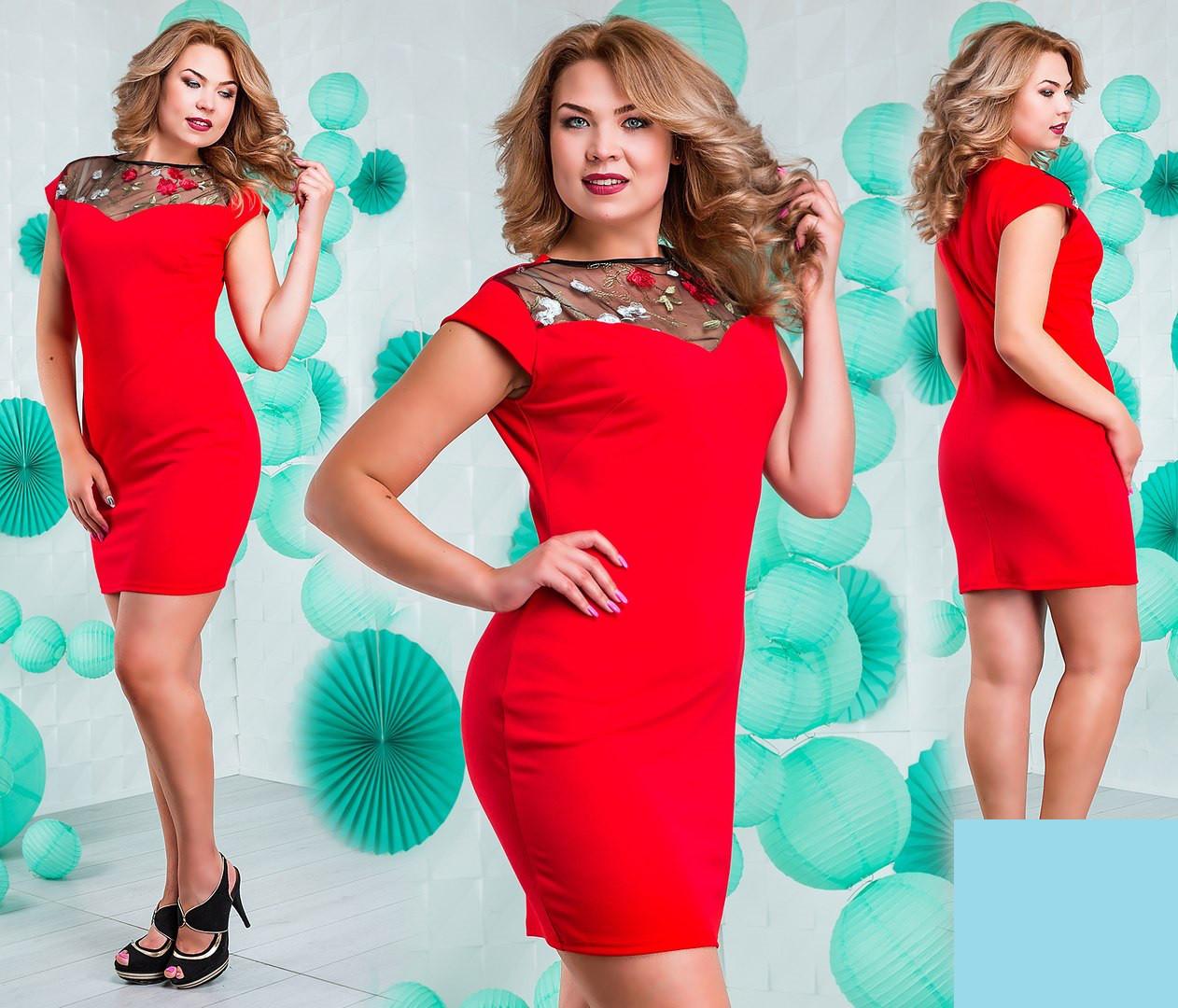 Платье нарядное летнее (3 цвета)