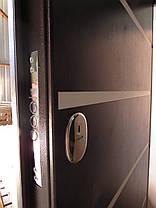 Наружные входные двери Редфорт Горизонталь молдинг на улицу, фото 2
