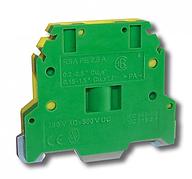Клемма винтовая для заземления RSA PE 2,5 A желто-зеленая (A521230)