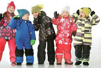Детские комбинезоны весна-осень