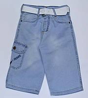 Капри шорты джинсовые на мальчика 9, 10, 11 лет, Турция, фото 1