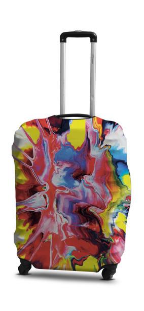 Чохол для валізи Coverbag абстракція S