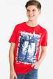 Две подростковые футболки с принтом для мальчика C&A Германия Размер 158-164, фото 2