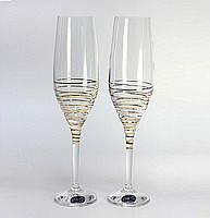 Набор бокалов д/шампанского Bohemia 190мл