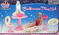 Набор мебели 1213 для Барби ванная комната