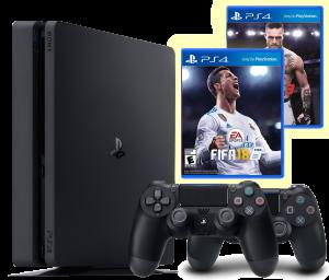 Sony PlayStation 4 1TB (CUH-1208) DualShock Bundle Jet Black (200620)