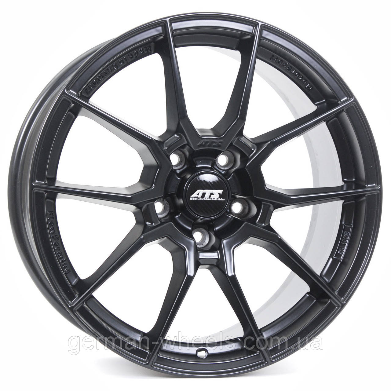 "Диски ATS (АТС) модель RACELIGHT цвет Racing-black параметры 8.5J x 19"" 5 x 114.3 ET 45"