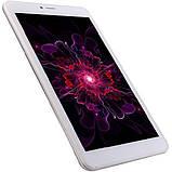 Планшет экран 7 дюймов на 2 сим карты 1/16Gb 3G Nomi Corsa 3 серебристый, фото 2