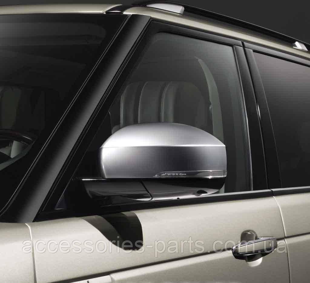 Комплект накладок на боковые зеркала  Dark Atlas Range Rover L405 Новый Оригинальный