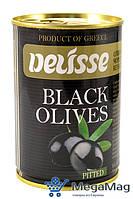 Маслины DELISSE Black Olives Pitted 420г