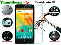 Защитное стекло Prestigio Wize G3 3510 / 2,5D / олеофобное покрытие