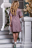 Элегантное летнее Платье глубокого розово-коричневого оттенка   44-50р, фото 4