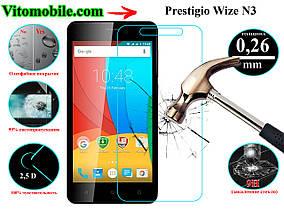 Защитное стекло оригинальное Prestigio Wize N3 3507 Duo 2,5D / закругленные края / олеофобное покрытие