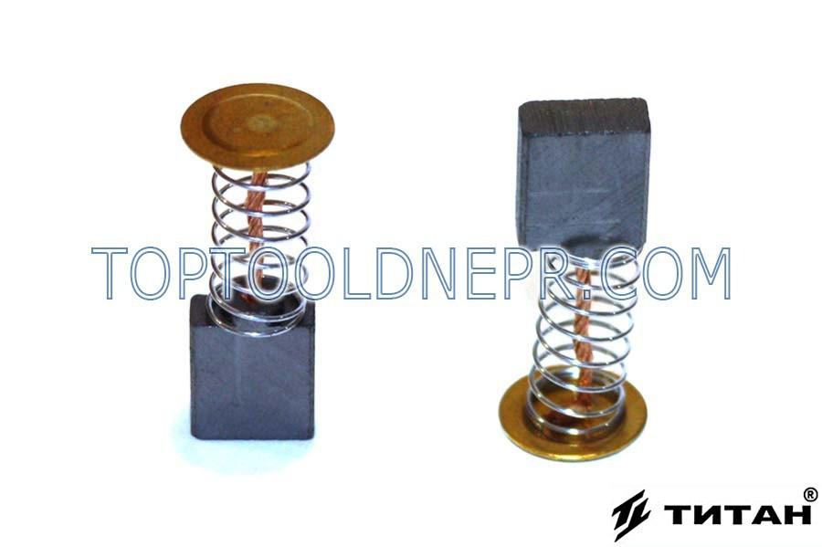 Угольная щетка для болгарки Титан ПУШМ 8-125 фирменная 5х11