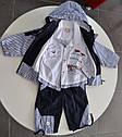 Летний комплект для мальчика Ebru: ветровка, сорочка, штаны  (ТМ Petito Club, Турция), фото 2