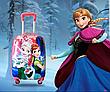 Чемодан ручная кладь детский  дорожный качество эконом  Frozen-Холодное сердце Josef Otten 18-1808-3\0486-1-17, фото 2