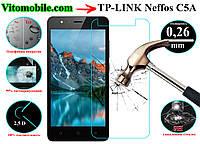 Защитное стекло оригинальное TP-Link Neffos C5A 2,5D / закругленные края / олеофобное покрытие