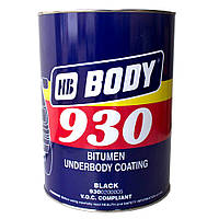 Мастика для днища BODY 930 (5кг) полимерно-битумная