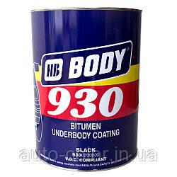 Мастика для днища BODY 930 (5кг) полімерно-бітумна