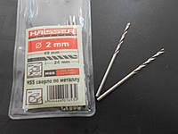 Сверло по металлу HAISSER D 2х24х49