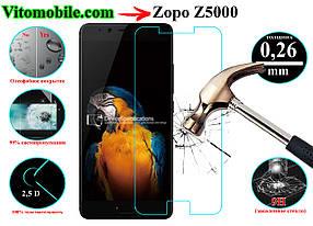 Защитное стекло оригинальное Zopo Z5000 2,5D / закругленные края / олеофобное покрытие