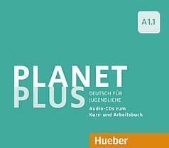 Planet Plus A1.1 Audio-CDs zum Kursbuch und Arbeitsbuch