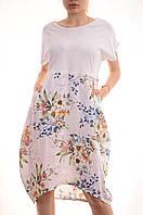 Льняные платья оверсайз сток оптом My luna