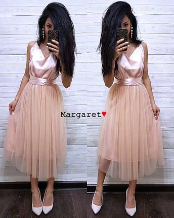 Шикарное платье с открытой спинкой, размер 42-44, фото 2