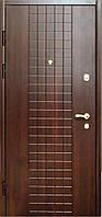 Вхідні двері Цитадель на гнутом профілі 133